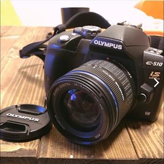 オリンパス(OLYMPUS)のOLYMPUS デジタル一眼レフカメラ E-510ダブルズームキット(デジタル一眼)