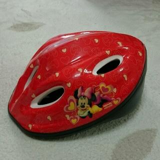 ディズニー(Disney)のpinkさん専用。ディズニー ミニー 子供用 ヘルメット (自転車)