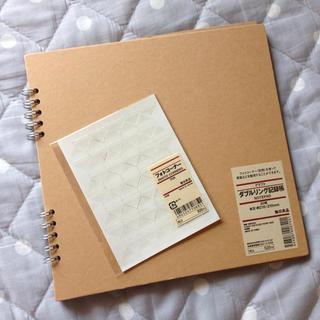 ムジルシリョウヒン(MUJI (無印良品))のリング記録帳&フォトコーナーのセット(その他)