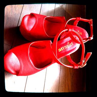 赤サンダル(サンダル)