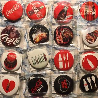 コカコーラ(コカ・コーラ)の【5月病はスカッと爽快に!?】コカ・コーラ キャンペーングッズ缶バッジ(ノベルティグッズ)