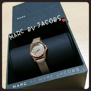 マークバイマークジェイコブス(MARC BY MARC JACOBS)の早い者勝ち 値下げ マークバイジェイコブス 腕時計 ベージュ(腕時計)
