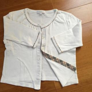 バーバリー(BURBERRY)のsakura様 専用 BURBERRY バーバリー 120 七分袖 羽織りもの(カーディガン)
