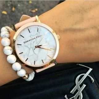 キャロルクリスチャンポエル(Carol Christian Poell)のクリスチャンポール★一番人気pinkbeige 43mm(腕時計)