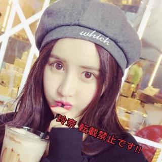 【2017ss新作】オルチャン愛用!! ワンポイントベレー帽!!(ハンチング/ベレー帽)