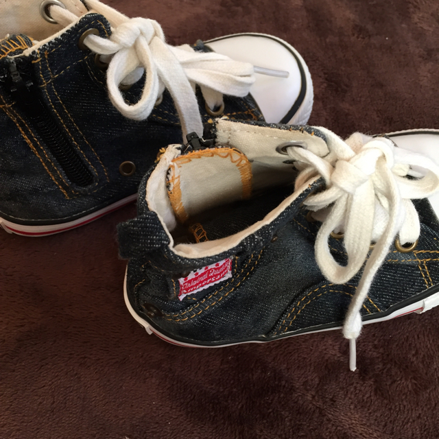 ampersand(アンパサンド)のアンパサンド ハイカット 16 キッズ/ベビー/マタニティのキッズ靴/シューズ (15cm~)(スニーカー)の商品写真