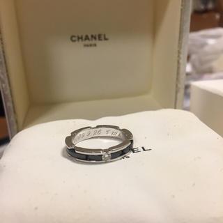 シャネル(CHANEL)のCHANEL J12 ウルトラコレクション リング(リング(指輪))