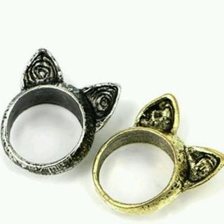 ネコ リング ゴールド(リング(指輪))