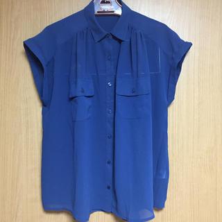 ジーユー(GU)のシフォン ブラウス GU(シャツ/ブラウス(半袖/袖なし))