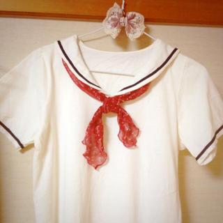 ミスティウーマン(mysty woman)のセーラーカラーTシャツ♡(Tシャツ(半袖/袖なし))