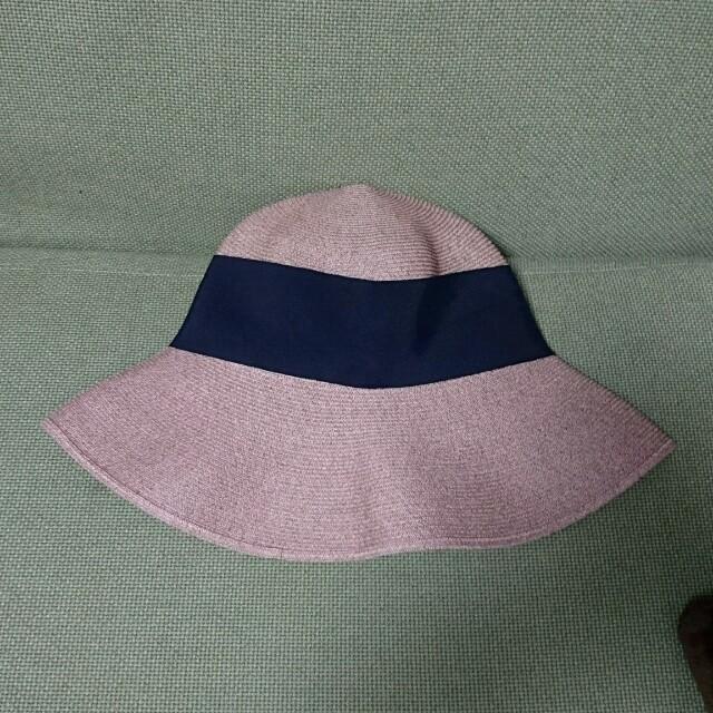 UNITED ARROWS(ユナイテッドアローズ)のアッシーナニューヨーク RISAKOブラックリボン レディースの帽子(麦わら帽子/ストローハット)の商品写真