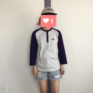 アディダス(adidas)のadidas ラグランTEE(Tシャツ/カットソー(七分/長袖))