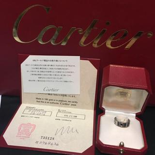 カルティエ(Cartier)のCartier ラブリング ブラックサファイア 8号(リング(指輪))