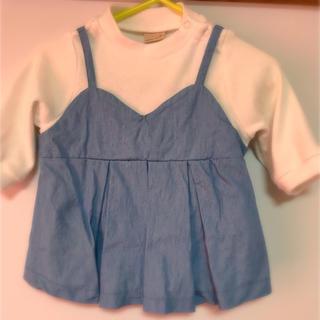 プティマイン(petit main)の子供服 女の子 長袖 80サイズ (トレーナー)