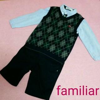 1d6640475424f ファミリア(familiar)のファミリアfamiliar フォーマル3点セット☆110(ドレス