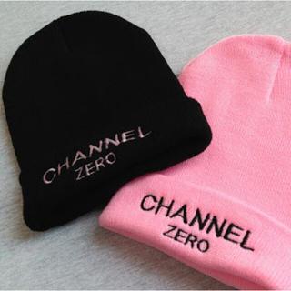 サー(SSUR)の【再値下げ】【美品】SSUR CHANNEL ZERO ニット帽(ニット帽/ビーニー)