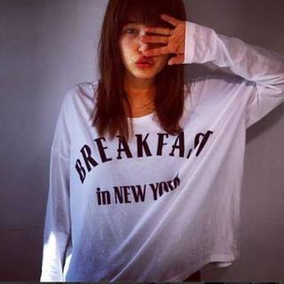 メゾンドリーファー(Maison de Reefur)のメゾンドリーファー ♡梨花着用ワイドTシャツ♡ (Tシャツ(長袖/七分))