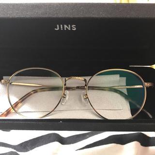 ゾフ(Zoff)の即購入で3500円 JINS ジンズ クラシック 伊達メガネ(サングラス/メガネ)