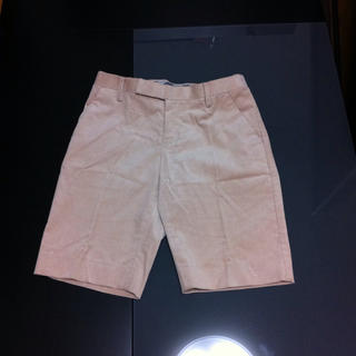 ダブルスタンダードクロージング(DOUBLE STANDARD CLOTHING)の【新品送料込】ピンクベージュ ハーパン(ハーフパンツ)