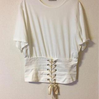 ザラ(ZARA)のzara コルセット トップス tシャツ(Tシャツ(半袖/袖なし))