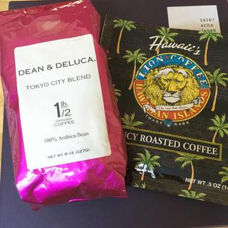 ディーンアンドデルーカ(DEAN & DELUCA)のDEEN&DELUCA コーヒー おまけ付き(コーヒー)