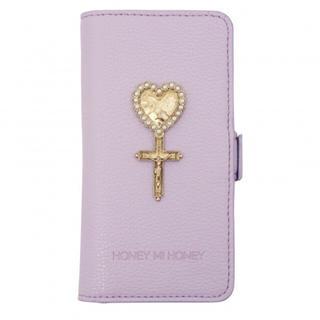 ハニーミーハニー(Honey mi Honey)のheart cross iPhone BOOK case♡ 新品(iPhoneケース)