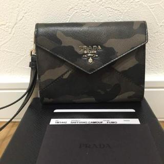 PRADA(プラダ)の未使用 プラダ 財布 カードケース レディースのファッション小物(財布)の商品写真