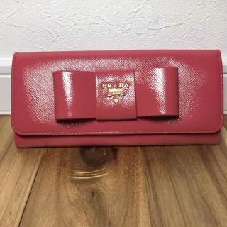 PRADA(プラダ)の未使用 プラダ サフィアーノ 財布 レディースのファッション小物(財布)の商品写真