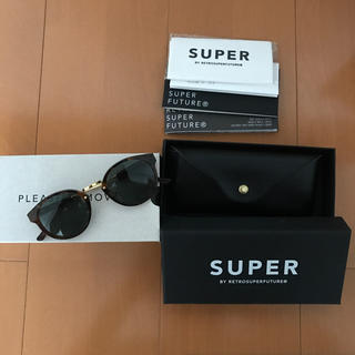 スーパー(SUPER)のSUPERサングラス(サングラス/メガネ)