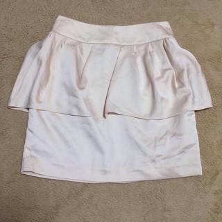 マーキュリーデュオ(MERCURYDUO)のペプラムタイトスカート♡♡(ミニスカート)