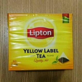 新品 リプトン イエローラベル  ティーバッグ  50袋 (茶)
