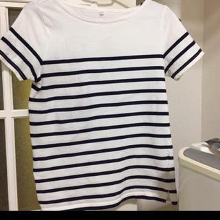 ムジルシリョウヒン(MUJI (無印良品))の無印良品 ボーダー 定番 S(Tシャツ(半袖/袖なし))