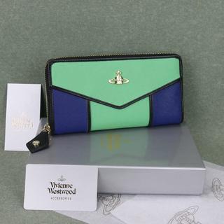 ヴィヴィアンウエストウッド(Vivienne Westwood)のヴィヴィアン ウエストウッド 55317グリーン新品正規品(財布)