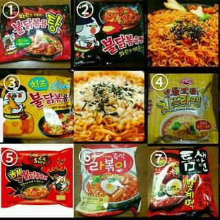 韓国乾麺 3食セット(インスタント食品)