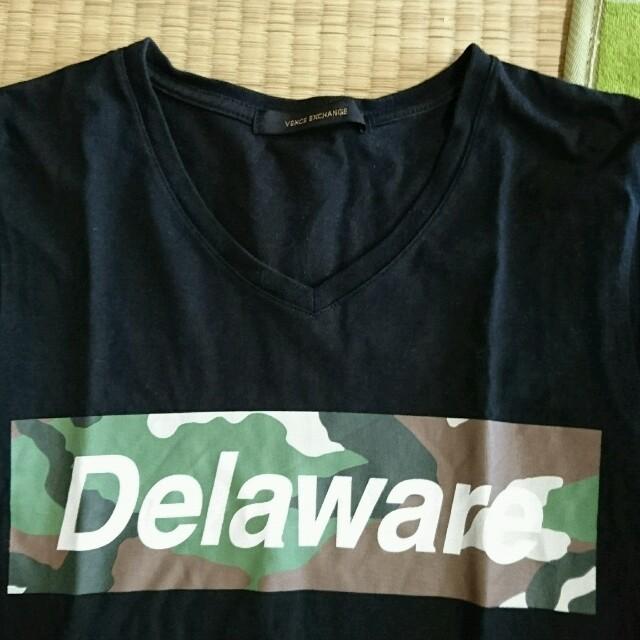 VENCE(ヴァンス)のVネック黒Tシャツ(妹から) レディースのトップス(Tシャツ(半袖/袖なし))の商品写真