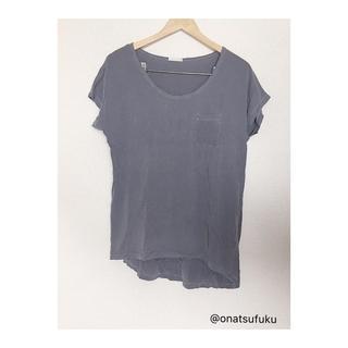 ジーユー(GU)のGU くすみカラー Tシャツ(Tシャツ(半袖/袖なし))