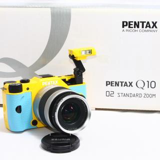 ペンタックス(PENTAX)の24h以内即日発送❤️PENTAX Q10 希少カラー レンズキット♪(ミラーレス一眼)