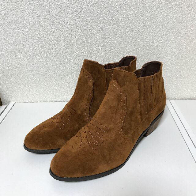 ORiental TRaffic(オリエンタルトラフィック)のORiental TRaffic ショートウエスタンブーツ LL 25.5cm レディースの靴/シューズ(ブーツ)の商品写真