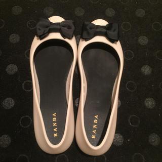ランダ(RANDA)のレインリボンパンプス(レインブーツ/長靴)