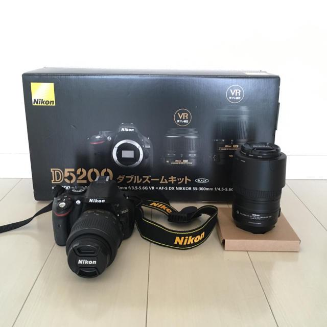 自撮り・wifi対応 NIKON D5200 ズームキット | フリマアプリ ラクマ