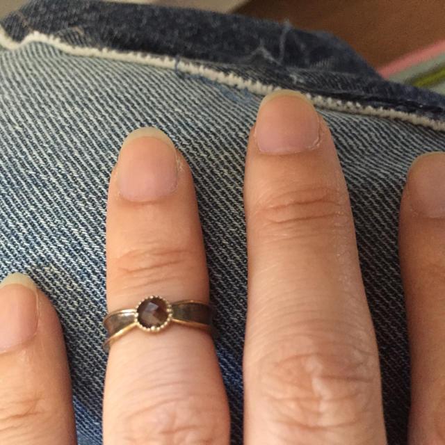 agete(アガット)の値下げ‼︎アガット☆ファランジリング美品 レディースのアクセサリー(リング(指輪))の商品写真