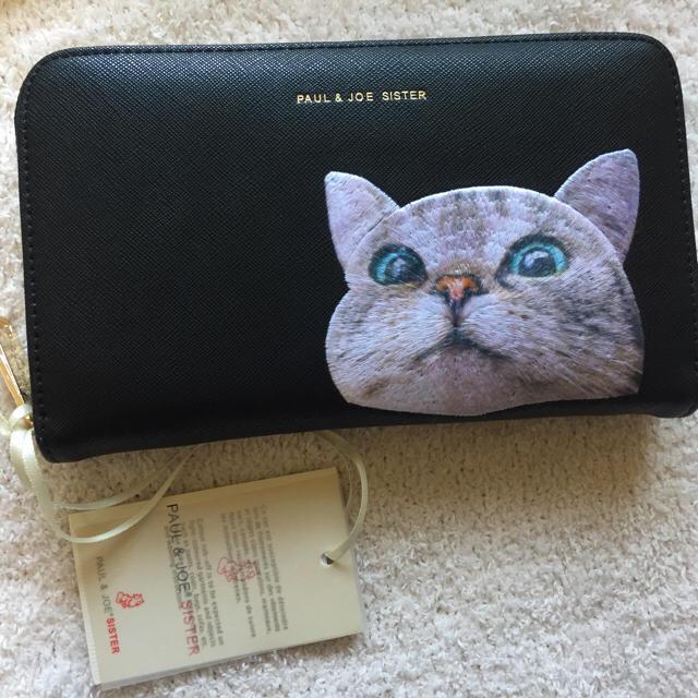 PAUL & JOE(ポールアンドジョー)のポールアンドジョー シスター 長財布 新品 猫 レディースのファッション小物(財布)の商品写真