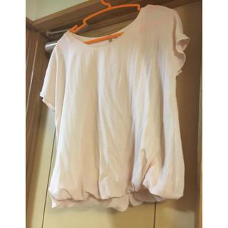 ショコラフィネローブ(chocol raffine robe)のchocol raffine robe ピンクトップス(シャツ/ブラウス(半袖/袖なし))