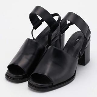 スライ(SLY)のSLY Strap Daily Sandal ブラック M(サンダル)