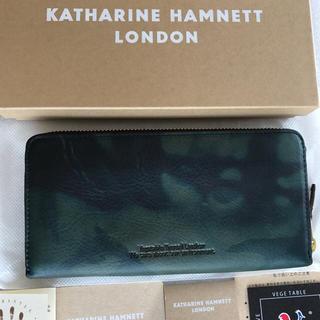 キャサリンハムネット(KATHARINE HAMNETT)の新品 キャサリンハムネット 財布 未使用 メンズ 箱付き 未使用 イタリア(長財布)