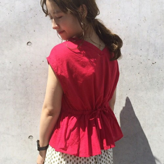 カスタネ(Kastane)のkyoyon様専用 ブラウス、ショーパンセット(シャツ/ブラウス(半袖/袖なし))