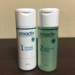 プロアクティブ(proactiv)のプロアクティブ 洗顔料 化粧水 セット ハーフサイズ(サンプル/トライアルキット)