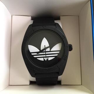 アディダス(adidas)のアディダスの時計 黒(腕時計(アナログ))