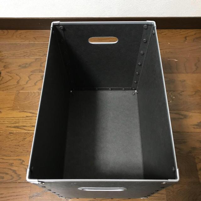 MUJI (無印良品)(ムジルシリョウヒン)の【中古】 無印良品 硬質パルプボックス蓋付 インテリア/住まい/日用品の収納家具(ケース/ボックス)の商品写真