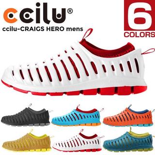 クロックス(crocs)のSOLD  ccilu チル hero ブラック 25-26㎝(サンダル)